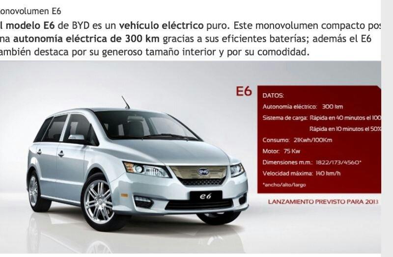 Los taxistas probarán un coche eléctrico chino para introducirlo en Valencia
