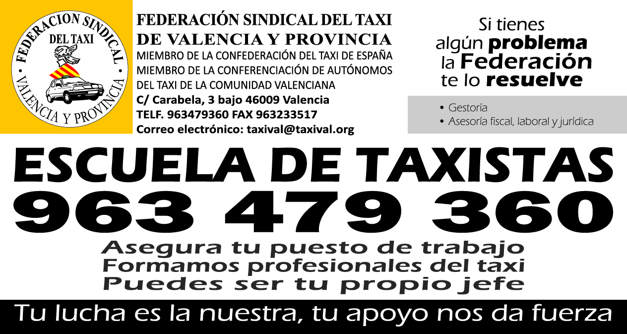 Escuela de taxistas de Valencia