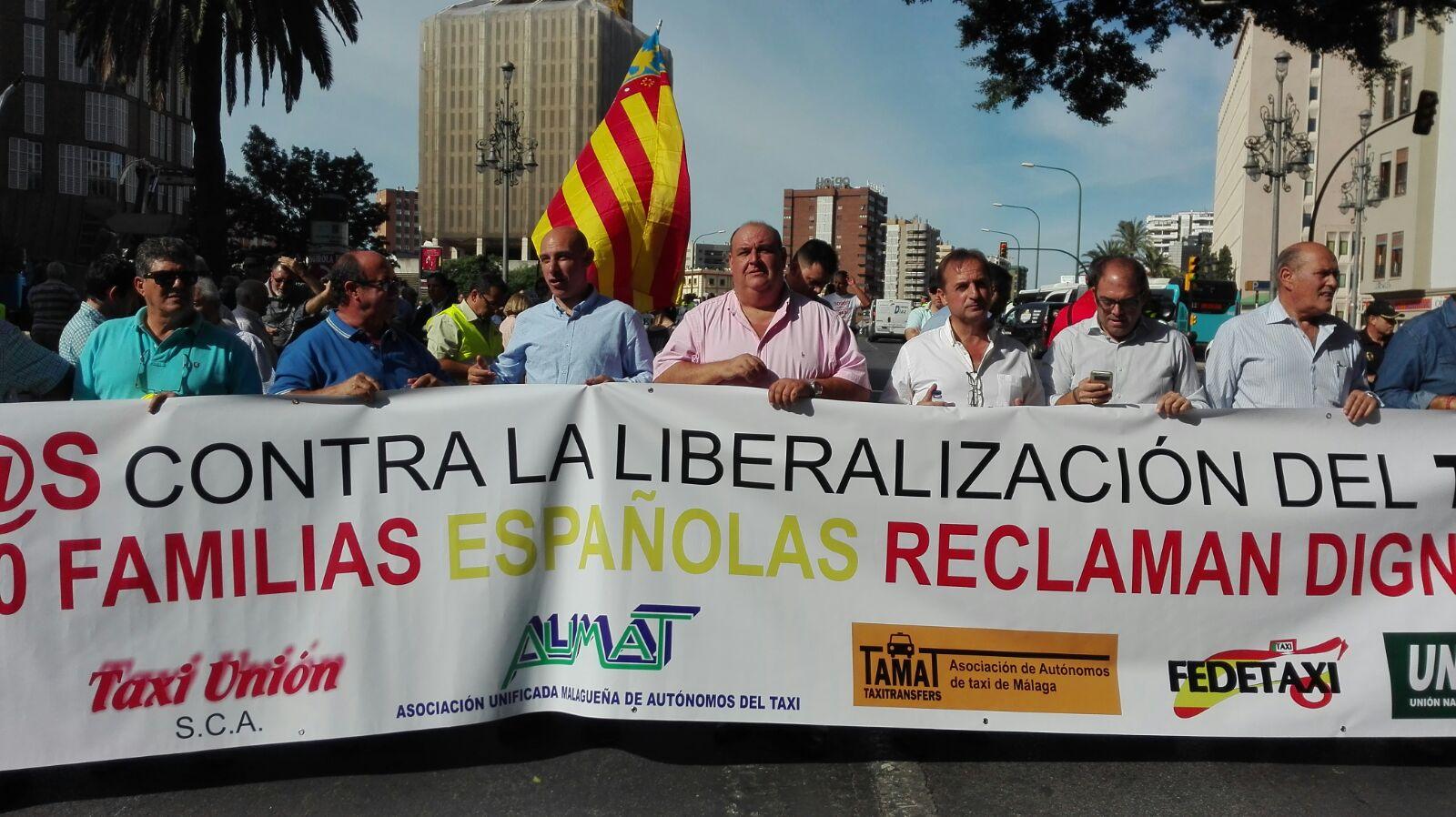 Manifestación Málaga 2015