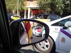Han estado presentes taxis de toda España
