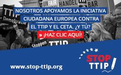 ÚNETE AL MOVIMIENTO CONTRA EL TTIP Y EL CETA